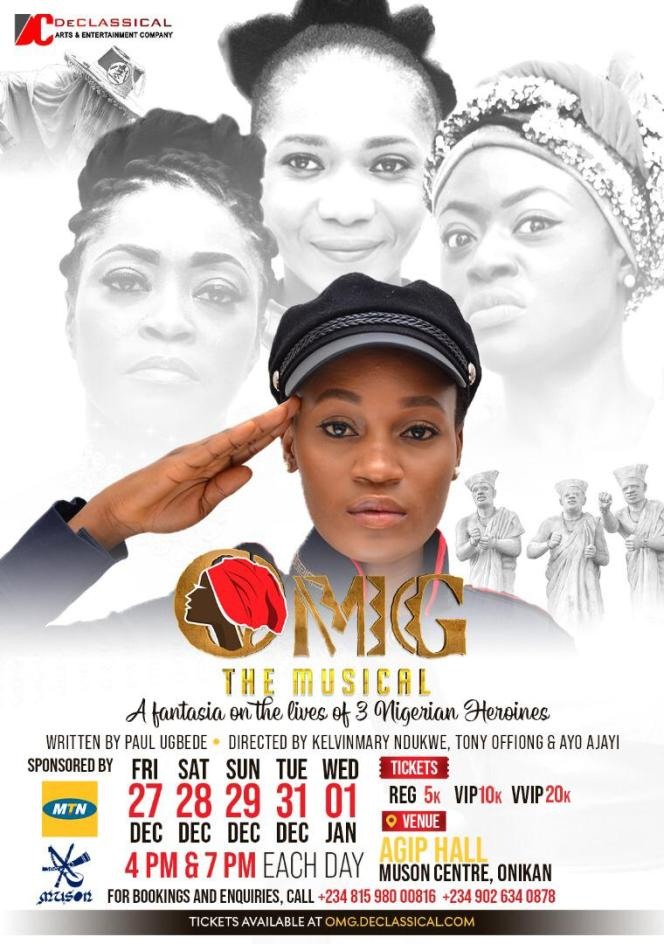 MTN Arts And culture - OMG The Musical - elsieisy blog