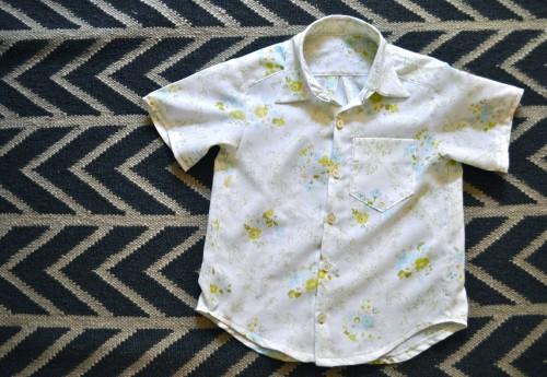 vintage sheet shirt