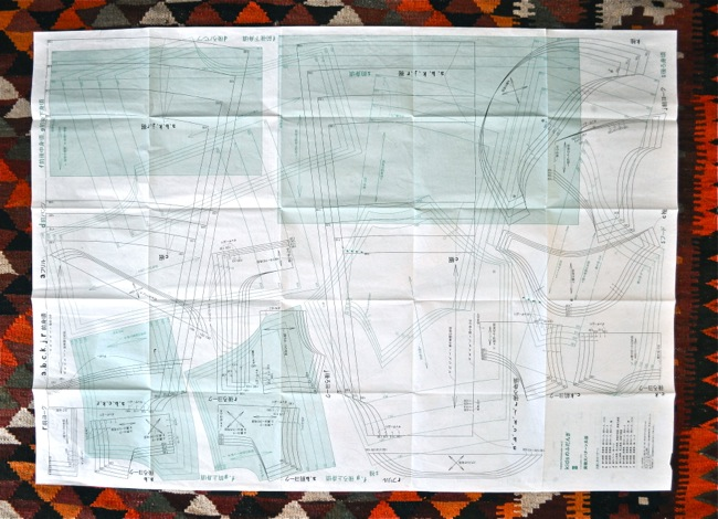pattern sheet from Happy Homemade vol 2