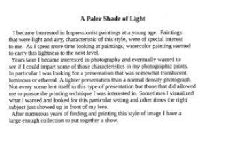 Paler Shade of Light