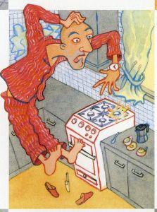 Ilustración de Ana G. Lartitegui para EL LIBRO DE LA SUERTE
