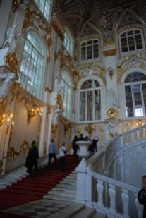 Ingang Hermitage Sint Petersburg
