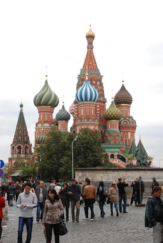 Sint Basil kathedraal Moskou