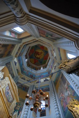 Sint Basil kathedraal Moskou binnenkant koepel