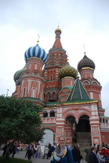 Sint Basil kathedraal Moskou poging 2