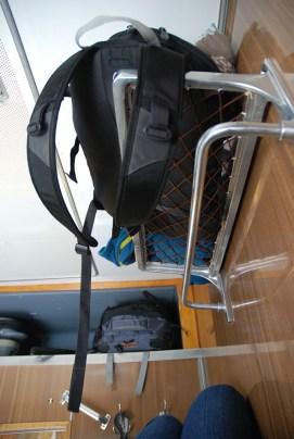 Trein Moskou naar Novosibirsk mijn cabine bovenste bed