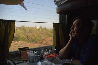 Leven in de trein TranMongolië Express