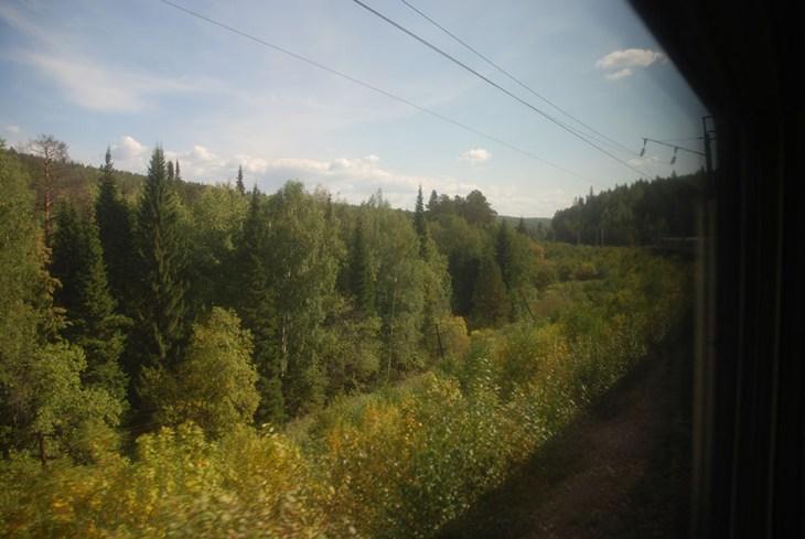 Locomotief TransMongolië express