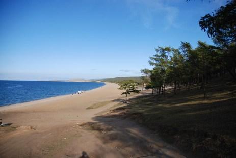 Strand Olchon eiland