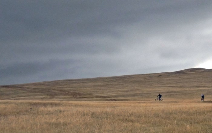 Mountainbiken fietsen banya Olchon Baikalmeer Rusland