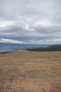 Uitzicht op Khuzir Olchon