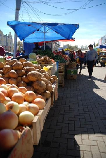 Markt Irkutsk Rusland