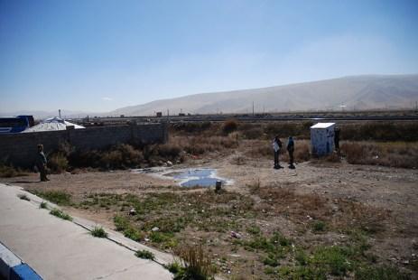 De eerste Mongoolse wc