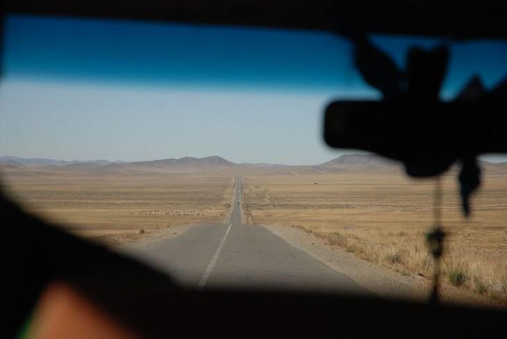 Onderweg rondreis Mongolië