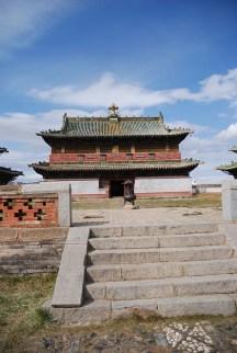 Erdene zuu klooster Kharkhorin Mongolië tempels