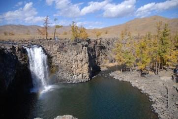 Orkhon valley waterval rondreis Mongolië