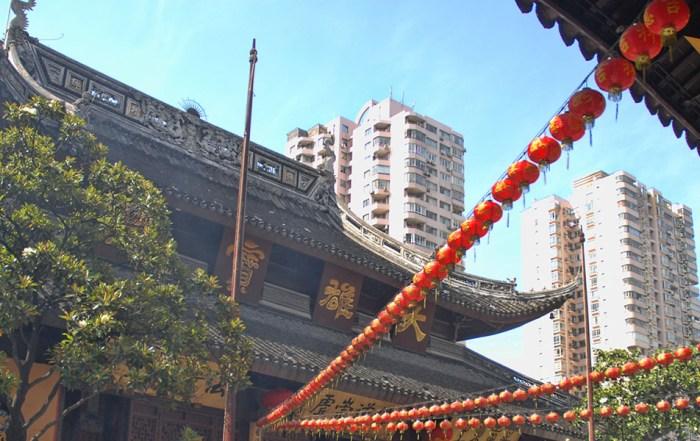Jade boeddha tempel Shanghai China