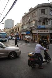Straatbeeld Shanghai