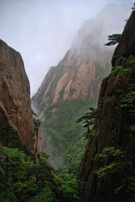 Huangshan Gele bergen China uitzicht