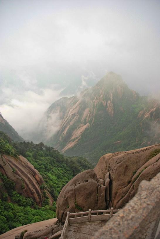 Huangshan Gele bergen China