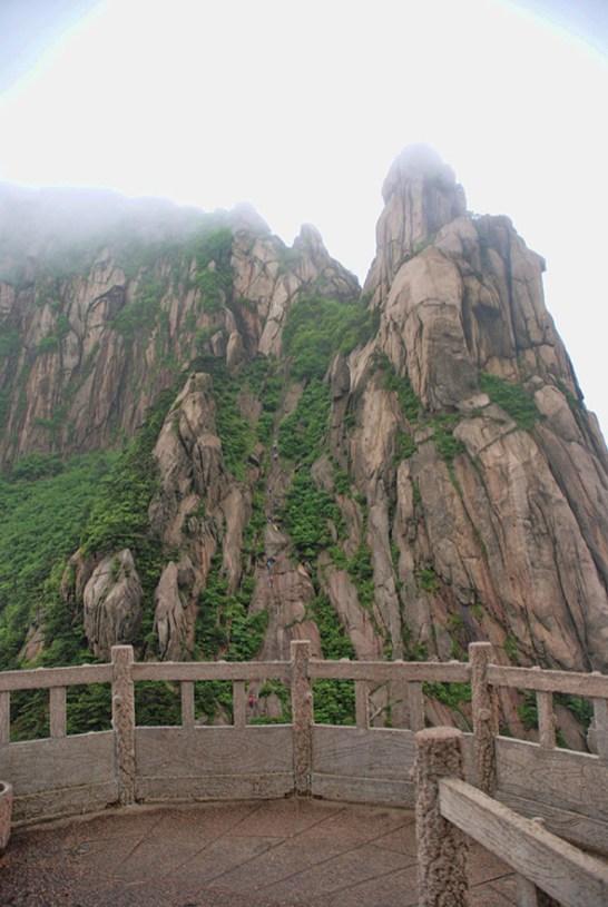 Huangshan Gele bergen Celestial Capital Peak