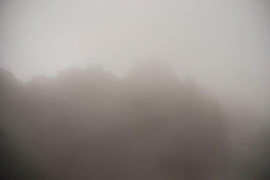 Huangshan Gele bergen mist