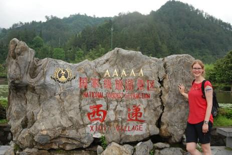 Xidi Huizhou dorpjes Els op Reis