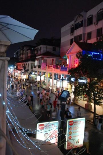 Straatbeeld Guilin