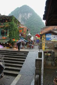 Straatbeeld Yangshuo