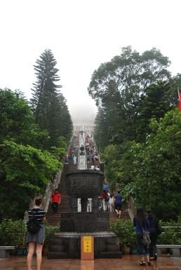 Big boeddha Tian Tan Hong Kong mist
