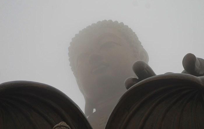 Big boeddha Tian Tan Hong Kong