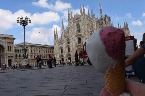 IJsje in Milaan