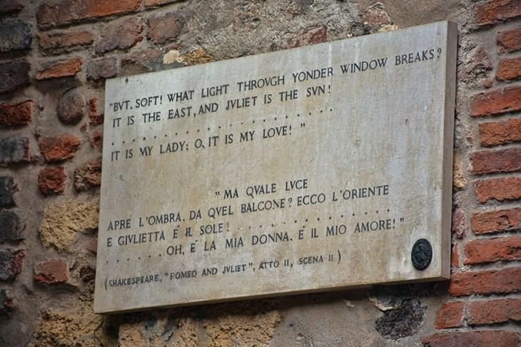 Verona Italië Casa di Giulietta