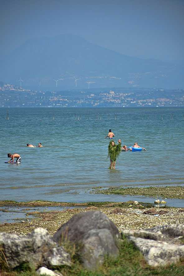 Gardameer Simione Italië