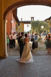 Bruiloft Italië Bedizzole bruidspaar