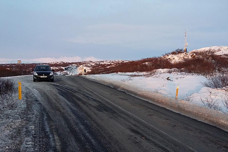 Mijn huurauto in Thingvellir IJsland