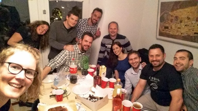Verjaardag met alle Grieken in Groningen