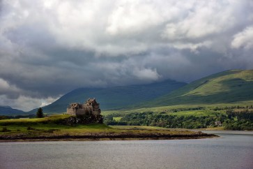 Duart Castle Isle of Mull in Schotland