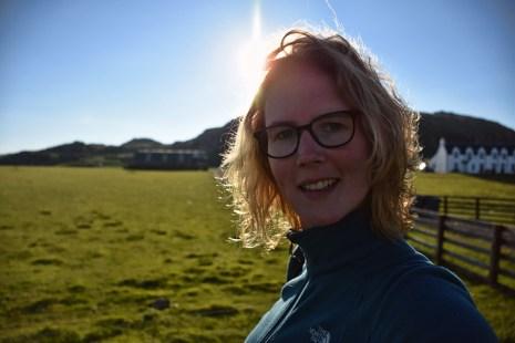Selfie Iona Schotland