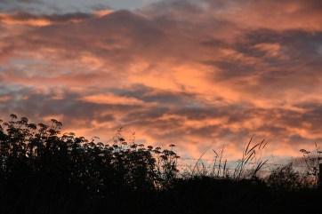 Zonsondergang Iona Schotland