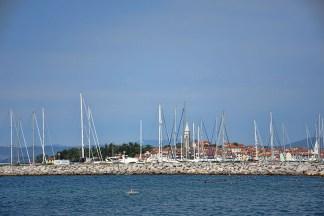 De zee bij Izola Slovenië
