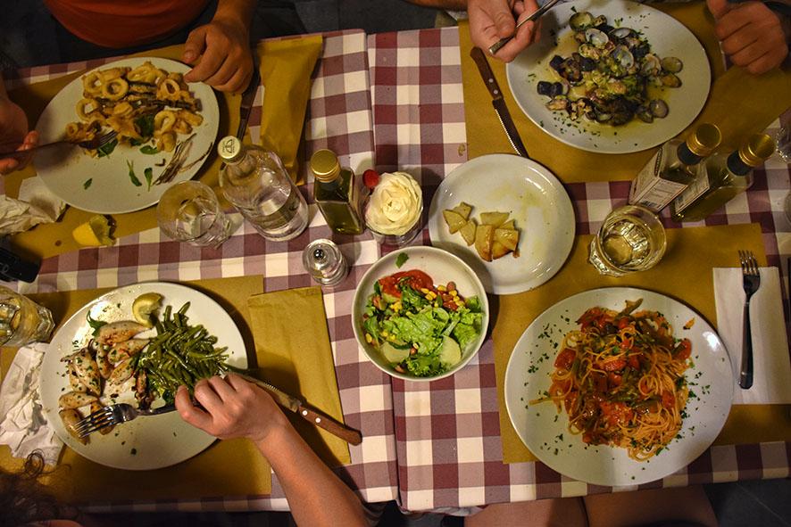 Eten in Triëst