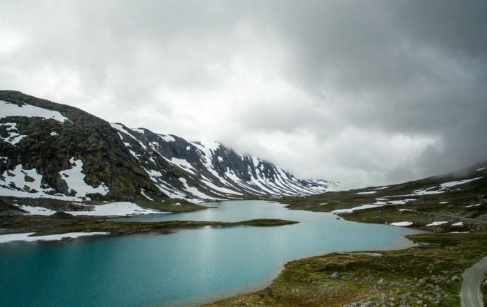 The only constant is change Noorwegen vanuit de lucht