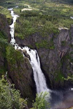 Voringsfossen Noorwegen