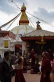 Boeddhistische stupa Boudhanath Kathmandu