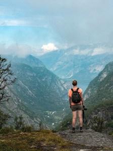 Beklimming Hardangervidda