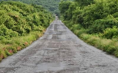 Carretera a Cacalotán