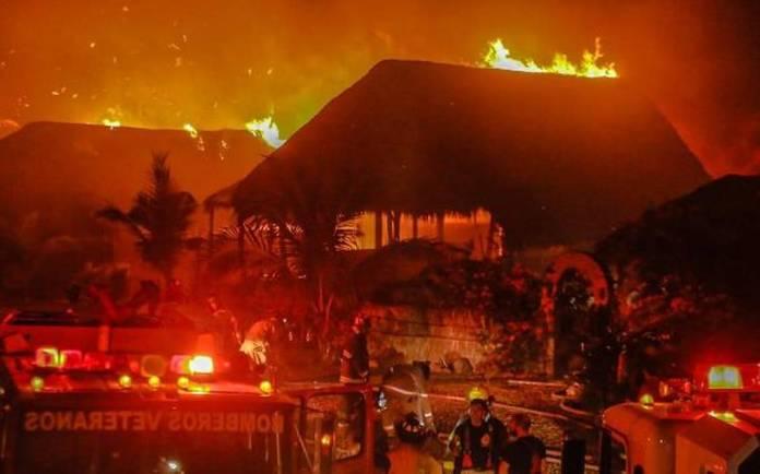 Se incendia trailer park en Cerritos - El Sol De Mazatlán