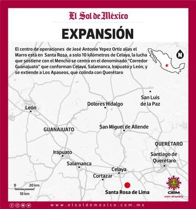 Bajo la lupa El Marro, líder del cártel huachicolero Santa Rosa de ...
