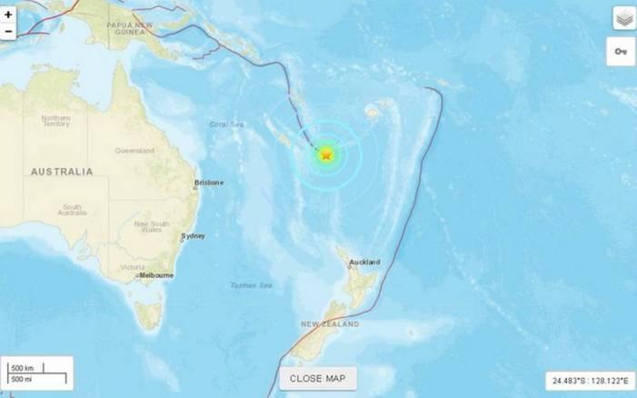 Resultado de imagen de Confirman el tsunami tras el terremoto en Australia